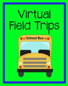 Virutal field trips and worksheets for teachers who are not able to take their kids out of the classroom.