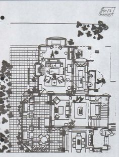 Casa Halliwell Plano Planta Baja 1 Charmed Quinta