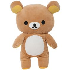 Rilakkuma Medium Plush | Hot Topic ($47) ❤ liked on Polyvore featuring fillers, plushies, toys, accessories and other