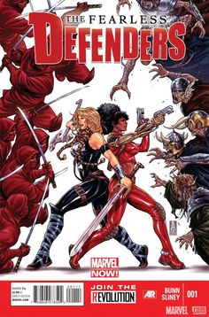 Cullen Bunn gets set for Fearless Defenders, discussing what his cast does fear and more! Who's the scariest character in the Marvel Universe?    http://marvel.com/news/story/19938/fearless_defenders_fighting_fear_pt_3