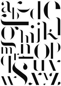 Benjamin Verlomme | Shiro to Kuro in Typography