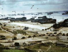 D-day Normandy beach 1944