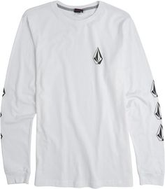 Volcom Stone Long Sleeve tee.  http://www.swell.com/New-Arrivals-Mens/VOLCOM-SAY-WHEN-LS-TEE?cs=WH