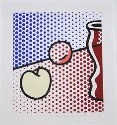Roy Lichtenstein, Still life with red jar