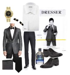 """""""Tom Riley's inspiration"""" by chicbluemarty ❤ liked on Polyvore featuring Tom Ford, Stefano Ricci, Rolex, Tommy Hilfiger, Roberto Cavalli, Cartier, Bottega Veneta, men's fashion and menswear"""