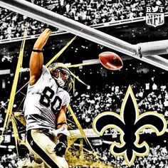 Who Dat!!! New Orleans Saints, Jimmy Graham