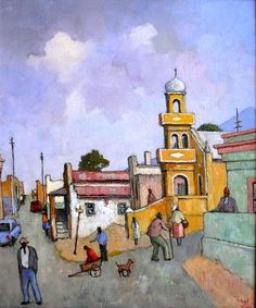 Masters & Modern Available – Investment Art South Africa Art, Africa Painting, African Colors, South African Artists, 3 Arts, City Art, Impressionism, Fantasy Art, Photo Art