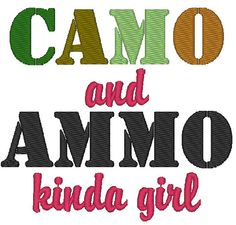 Instant Download Camo and Ammo Kinda Girl by ChickpeaEmbroidery, $2.75 Machine Embroidery, Birthday Ideas, Embroidery Designs, Camo, Trending Outfits, Handmade Gifts, Etsy, Camouflage, Kid Craft Gifts