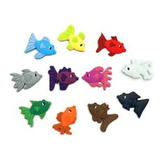 Magnetic animals are a fantastic resource to introduce your preschool child to colours and word patterns that will start them on their path to reading. Word Patterns, Preschool Age, Colorful Fish, How To Introduce Yourself, Your Child, Alphabet, Magnets, Colours, Reading
