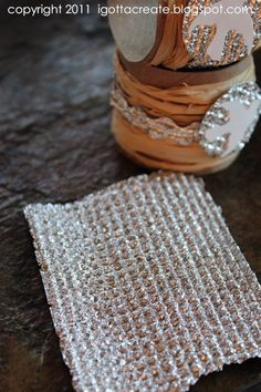 Make your own tin foil cloth and Rickrack from tin foil