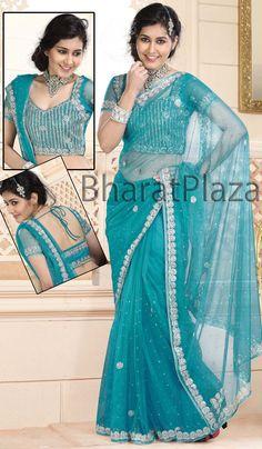 Delightful Party Wear Saree  Item code : SKD2253   http://www.bharatplaza.com/new-arrivals/sarees/delightful-party-wear-saree-skd2253.html http://www.facebook.com/bharatplazaportal https://twitter.com/bharat_plaza