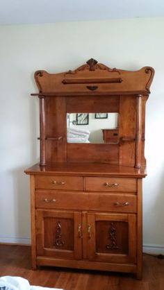 antique side-board in euc for sale. was used as dresser but is no longer wanted/needed. $175 obo. please email carlscameron@hotmail.com or contact via phone number for more info. thanks!