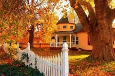 A home that inspires us for fall