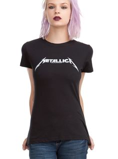 Metallica Logo Girls T-Shirt | Hot Topic