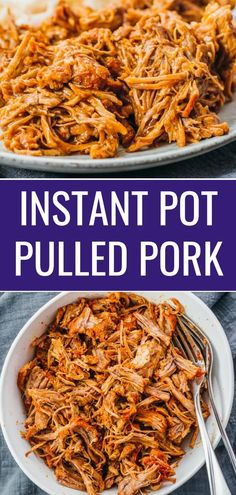 Instant Pot Pulled Pork - Savory Tooth