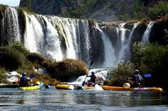 Rafting on the Zrmanja river, Zadar, Croatia
