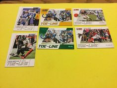 2016 SCORE TOE THE LINE VARIOUS PLAYERS/TEAMS INC T.Y. HILTON GREEN PARALLEL…