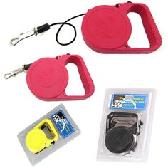 Made of an ABS plastic frame and durable nylon, this leash comes with a one-hand control button that stops, extends, or retracts the leash easily. It features an ergonomic design handle that makes you comfortable walking the dog. Assorted colors are available. Maximum leash length: 3 1/3 yards. Lead time is 8 weeks.