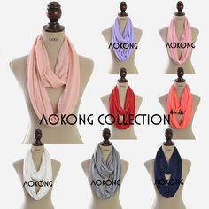 Look what I found Via Alibaba.com App: - 2016 New fashion women jersey scarf viscose cotton solid plain jersey infinity scarf