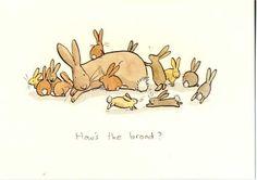 Illustrations by Anita Jeram Anita Jeram, Colored Pencil Artwork, Rabbit Art, Bunny Art, Children's Picture Books, Nursery Prints, Cute Illustration, Line Drawing, Cute Cartoon
