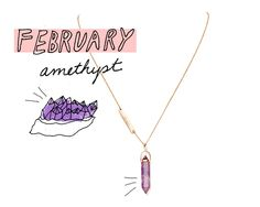 Samantha Wills, Humility & Power Amethyst Necklace, $175, available at Bloomingdale's.