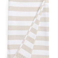 The White Company Lindos Stripe Outdoor Blanket | Nordstrom | Nordstrom