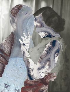 "Erin Case, ""Glaciers"", Other/ Multi disciplinary, Digital collage, 2012"