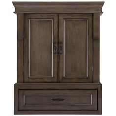 Home Decorators Collection Naples 26 34 In W Bathroom Storage Wall with regard to sizing 1000 X 1000 Rustic Wood Bathroom Wall Cabinet - Bathroom cabinets
