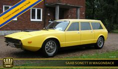 SAAB Sonett Break Chop Chop