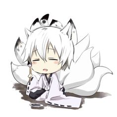 Inu x Boku SS - Miketsukami Soushi. so kawaii ^. Naruto Chibi, Cute Anime Chibi, Kawaii Chibi, Cute Anime Boy, Anime Kawaii, Anime Guys, Manga Anime, Anime Art, Neko Boy