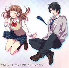 Vocaloid, Koi, Manga Art, Anime Art, Zutto Mae Kara, Honey Works, Korean Painting, Manga Couple, Online Anime