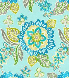 Waverly Outdoor Fabric-SNS Tilt & Twirl Oasis