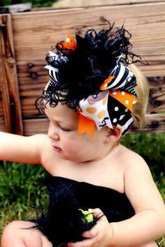 over the top head bow and band LOVE IT