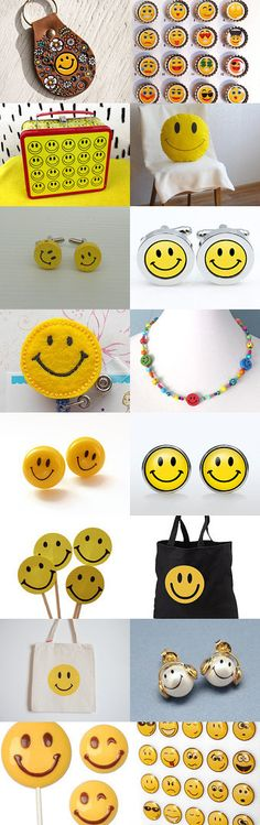 Classic Smiley face accessories