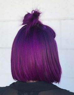 Here you can some of the best styles of vibrant violet and purple hair colors that you are definitely need to try in 2018. We have collected in this post unique trends of vibrant hair colors for medium, long and short hair. These are no doubt best hair purple hair colors for 2018. Visit here to check out these colors.