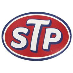 If timeless nostalgic decor revs you up, this STP Oval Embossed Tin Sign is sure to get your motor running! This classic motor oil advertisement sign is the perfect accent for a man cave, garage, or s