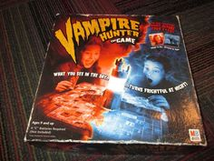 MILTON BRADLEY VAMPIRE HUNTER THE GAME BOARD GAME NEW BUT NOT COMPLETE, F/PARTS #MiltonBradley