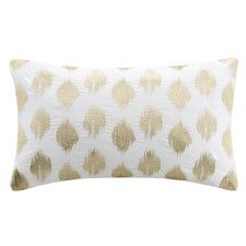 Little & Luxe A Glam & Metallic Look for Petite Rooms   Yvette Pillow