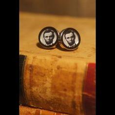 Cuff Links - Abraham Lincoln