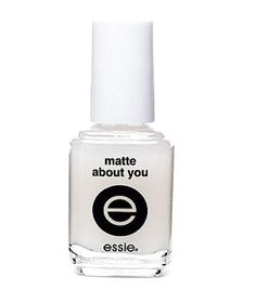 Or Make Any Color Matte | Surprising and surprisingly easy to wear, these polishes will modernize your manicure.