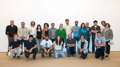 Artistas y responsables del proyecto.