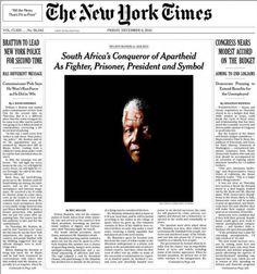 """Une"" du New York Times"