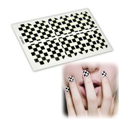 12Pcs Noctilucent Nail Art Sticker Patch Foils Wraps Decoration Decals For Fingers Toes