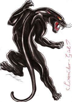 Black panther tattoo....gotta look for. Good idea for a friend..