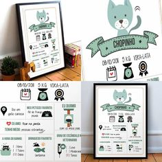 Quadro personalizado para o gato de estimação  R$50 (com moldura) R$ 20 (sem moldura)  visite a loja -> www.stamptag.com.br  #poster #gato #cat #instacat #mãedegato #paidegato #decoração #pet #presente #instadecor #instacool #love #cute #quadro #desing #gatos #catsofinstagram #amo #quero #home #casa