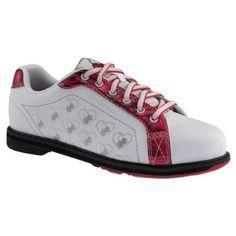 09f2087dd11 Etonic Womens Cherry Red Silver Bowling Shoes (8) Etonic Bowling Shoes.   57.95