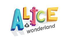 Alice in Wonderland // play logo for Children's Theatre Company