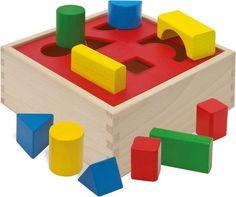 Heros Holzbox-Steckspiel » Sortier-, Stapel- & Steckspielzeug, EUR 12,99