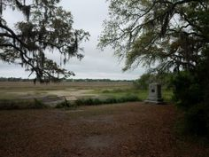 Bloody Marsh battle site on #StSimons from twitter user @seeing_southern
