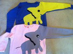 Custom Elephant Sweatshirt. $40.00, via Etsy.